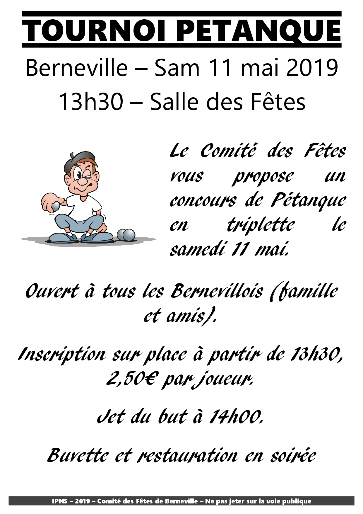tract petanque 2019